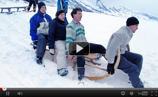 Corporate event Horn Sledge Adventure