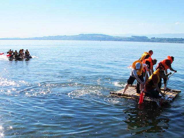 Life Raft Team Building Game