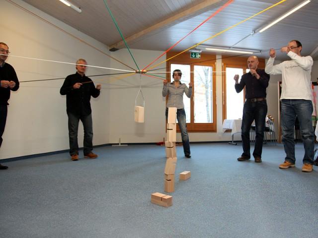 Teambuilding Indoor Schweiz | Teamgeist stärken | Conray.ch